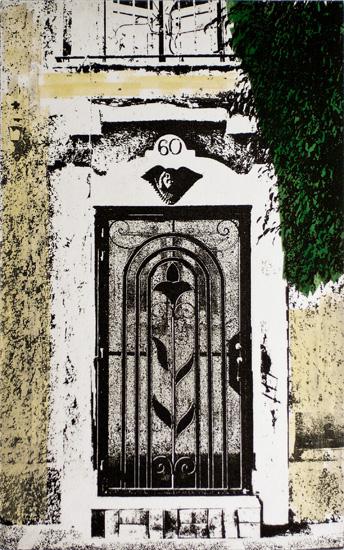 angel custodio - 6x10 intaglio print (non-toxic) 2010