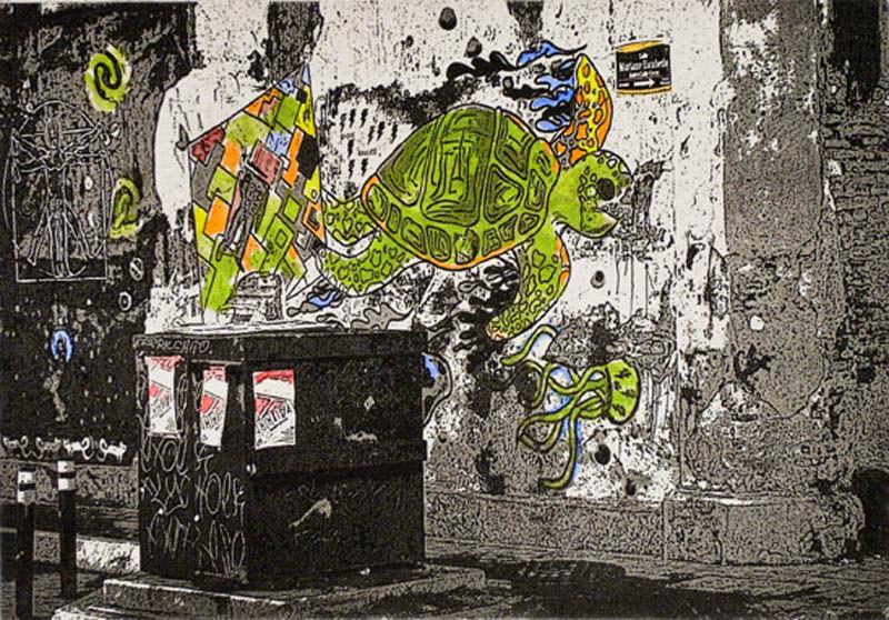 sybolismo - 6x9 intaglio print (non-toxic) 2010