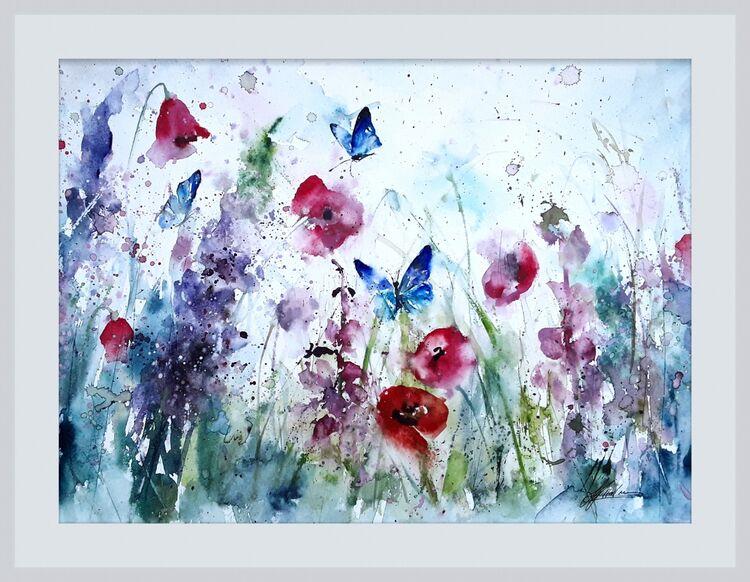 Butterflies meadow