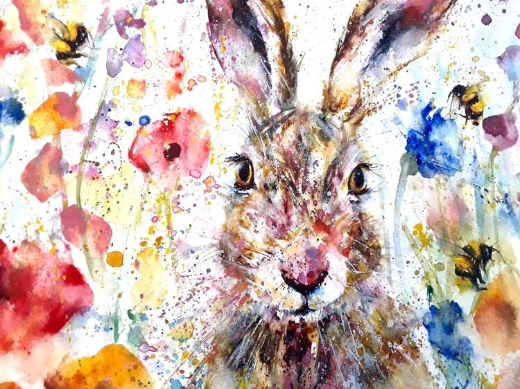Hare bees