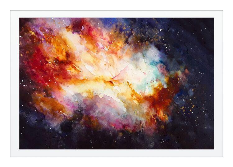 Cosmic gasp