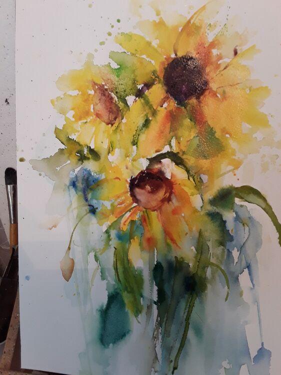 Sunflowers lisa