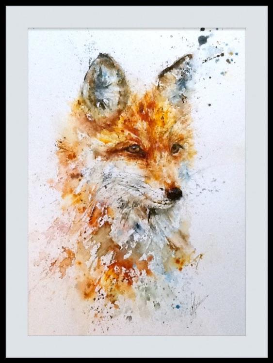 """"""" Fancy fox """" SOLD"""