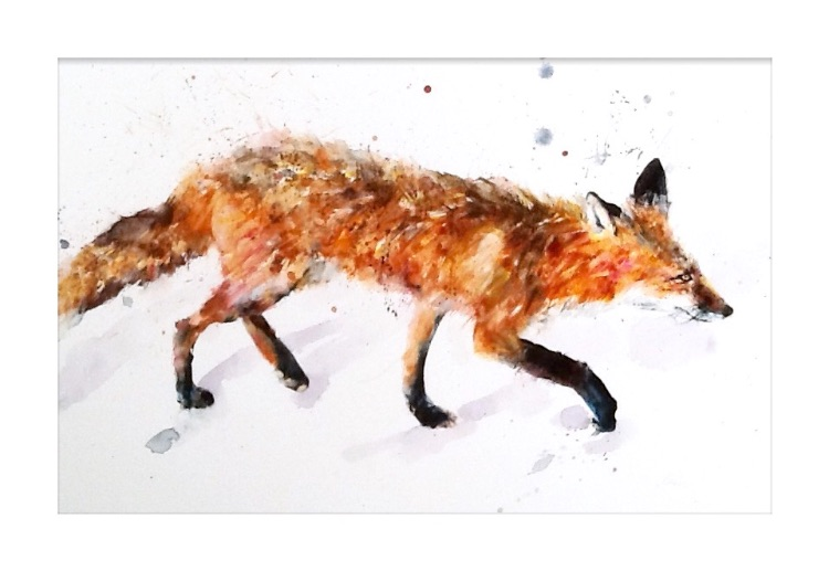 """"""" A night the prowl """"  SOLD"""