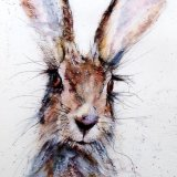 Limited edition print - Cute hare