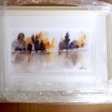 """ Distant trees ""  £320 gallery framed"