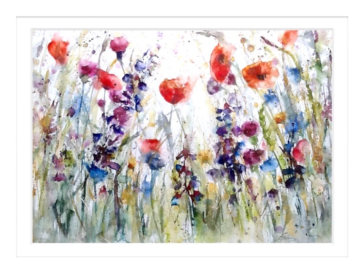 LARGE ORIGINAL Wildflowers SOLD