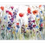LARGE ORIGINAL Wildflowers £195