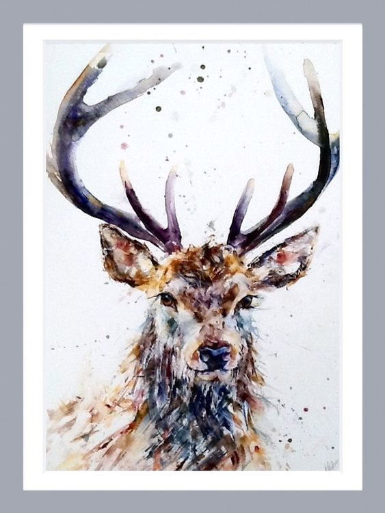 Be majestic stag painting