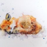 Little fox big ears .... Print number 1/200