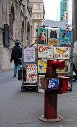 New York - Fire Hydrant & Street Vendor