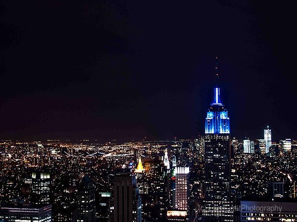 Empire State Building, Blue Hour