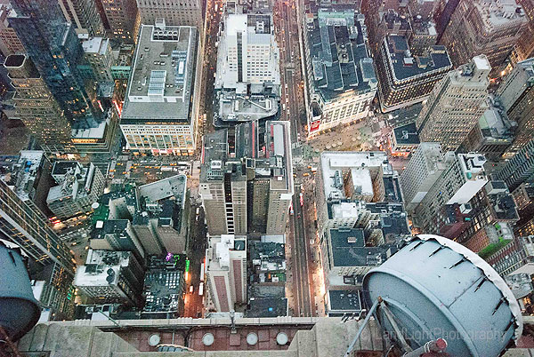 New York - Empire State Looking Down!