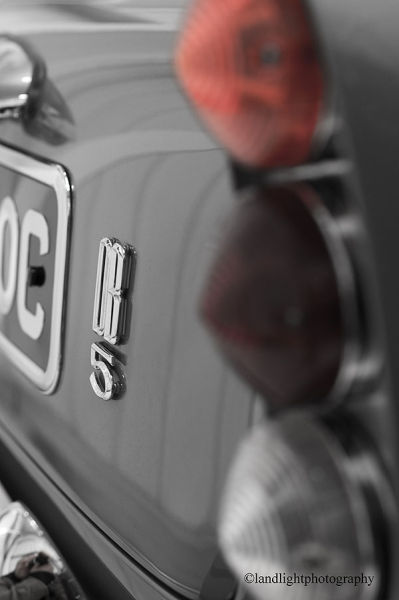 Aston DB5 Rear
