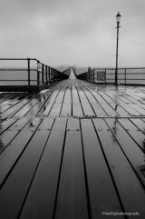 Rainy Day on the pier.