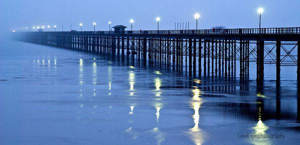 Southend Pier in the mist