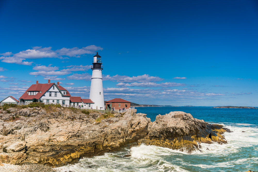 Portland Lighthouse, USA