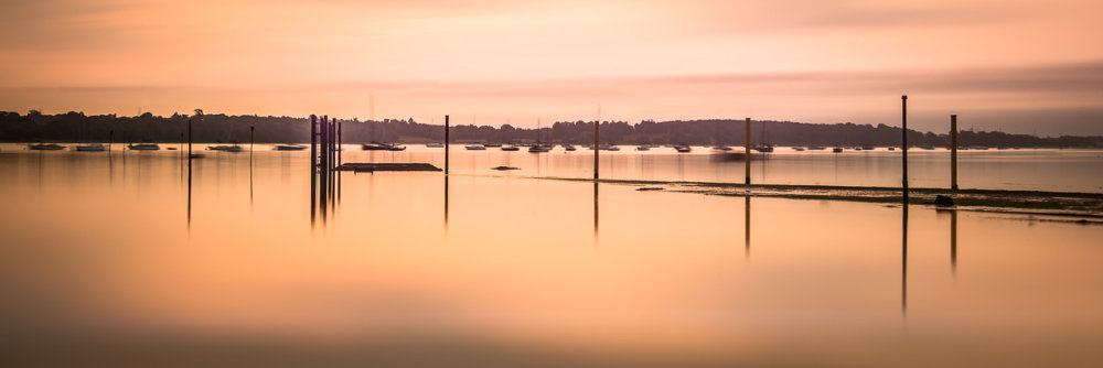 Sunrise over Pin Mill