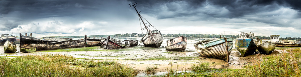 Pin Mill Wrecks