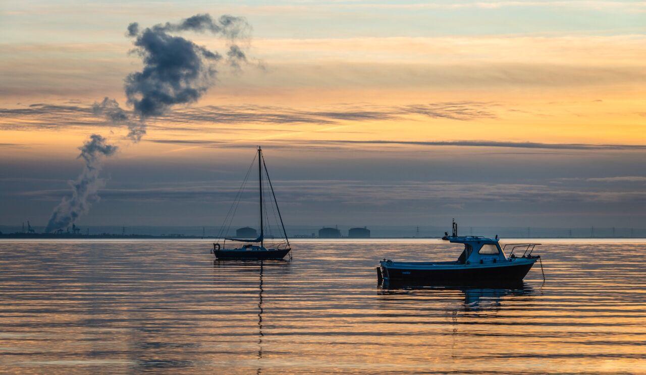 Floating Sunset.