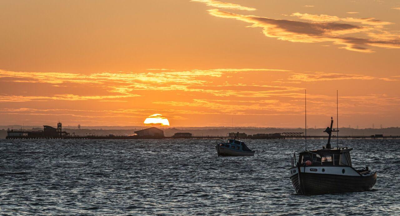 Sunset Pier.