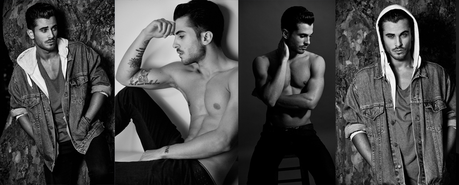 Men's model portfolio - Matteo @ Nevs model agency