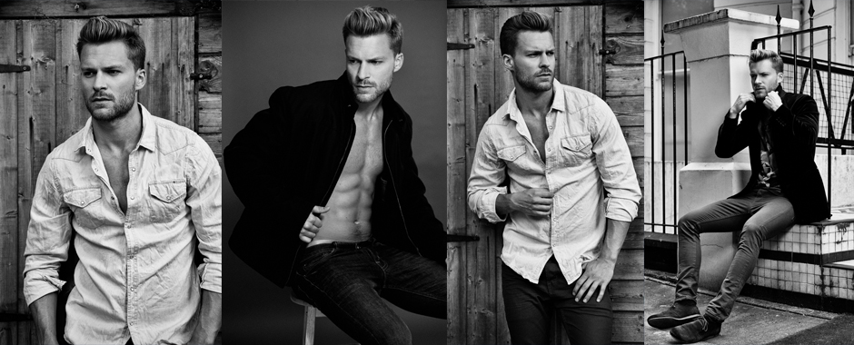 Men's model portfolio - Rob Green @ Next Models