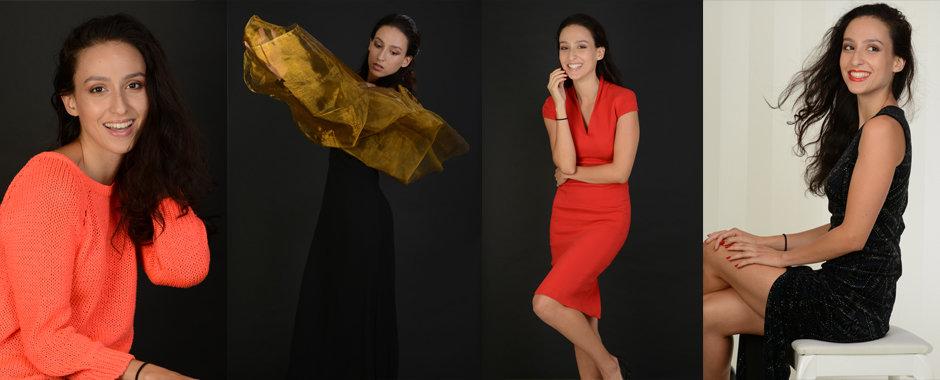 Model and actor portfolios