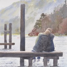 Couple at the Lake