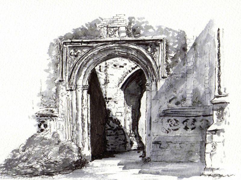 East Bergholt Church arch