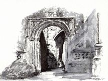 East Bergholt Church arch