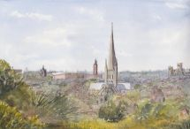 Norwich from St James Hill
