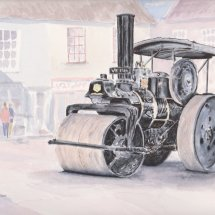 Steam Roller in North Walsham