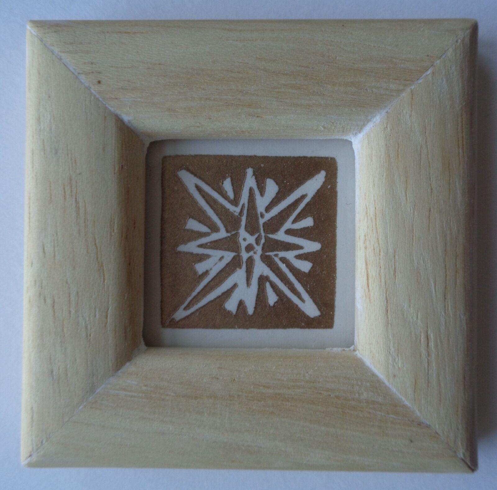 Framed Linocut