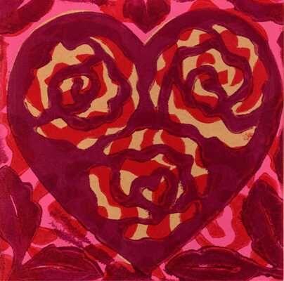 Jacquard Heart