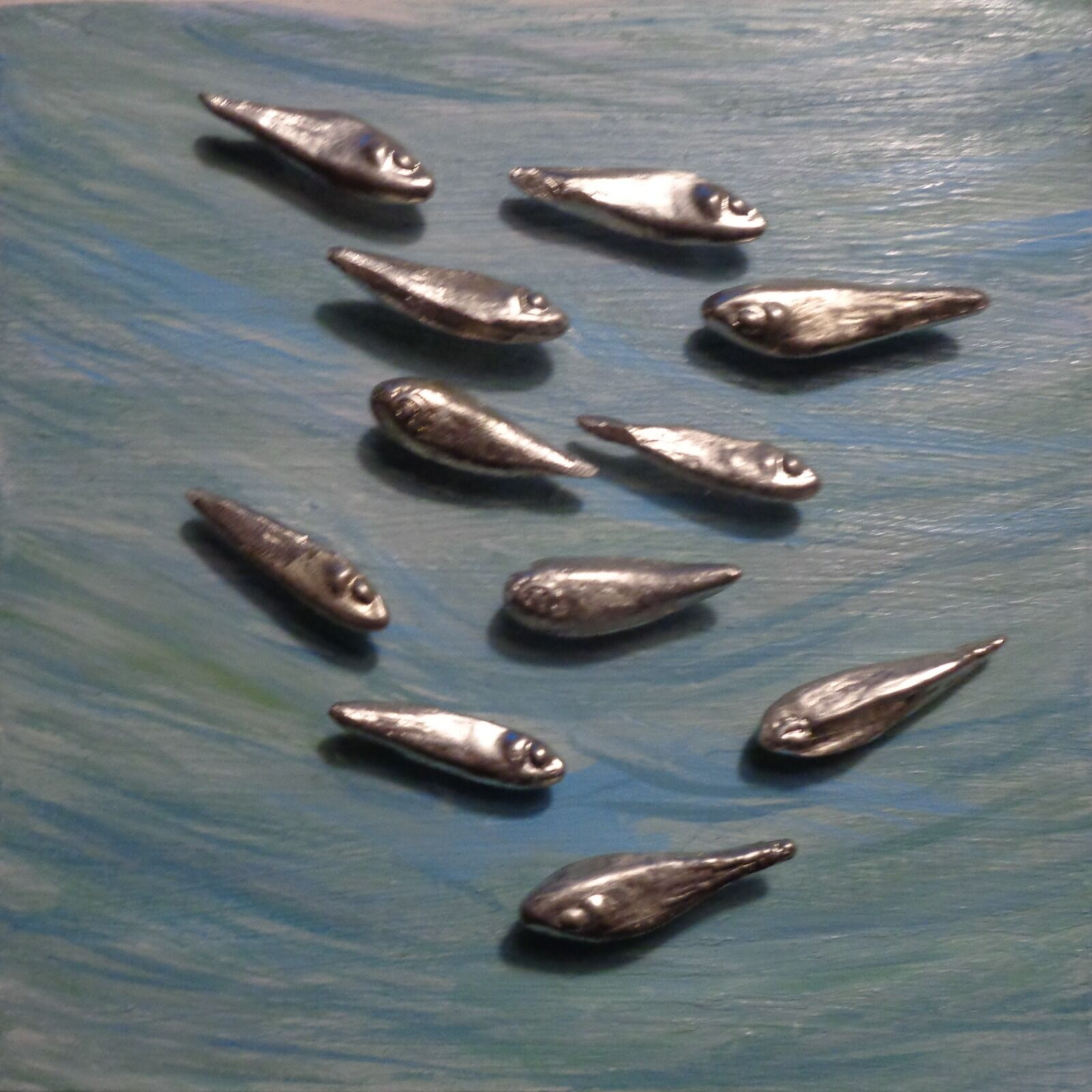Small Shoal of Fish