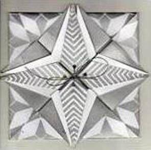 Origami Silver Star