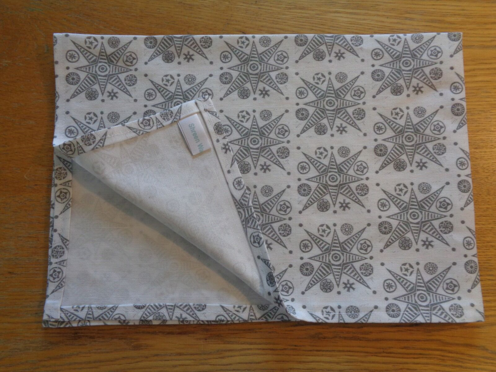 Silver Star Tea Towel