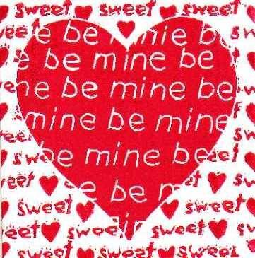 be mine - sweet heart