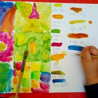 Gustav Klimt Patterns Colour Mixing