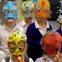 Mexican Day Of The Dead Mask Making