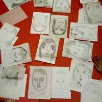 Self Portraits and tracings