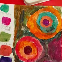 Sonia Delaunay Colour Charts