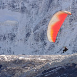 """""""Hang Gliding over Grindelwald Glacier""""Second Prize - Colour"""