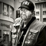 """The Man from the FBI""   Commended - Monochrome"