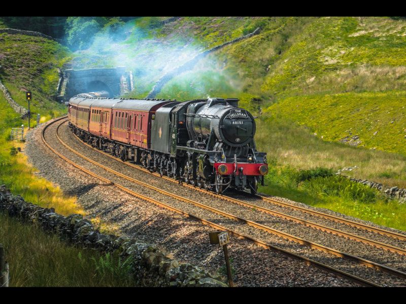 Engine 48151 at Blea Moor