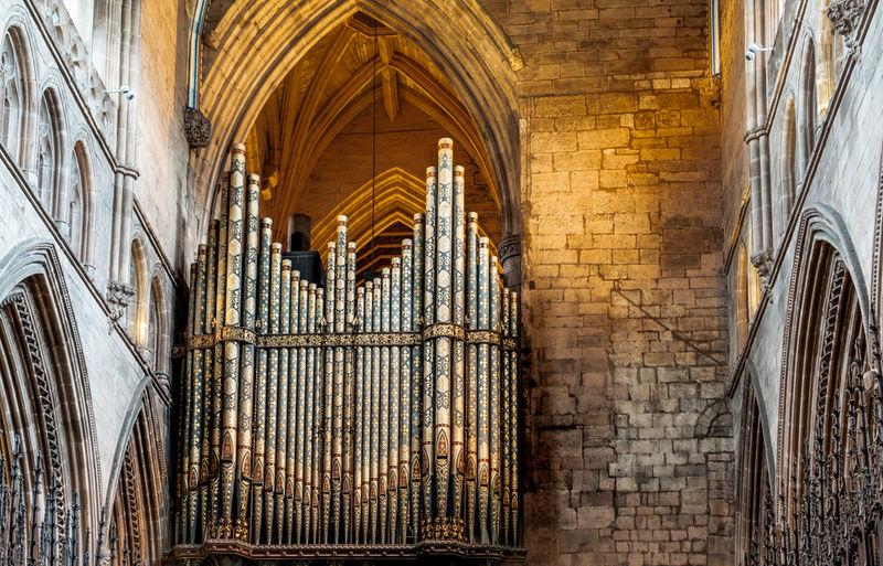 Organ, Carlisle Cathedral.