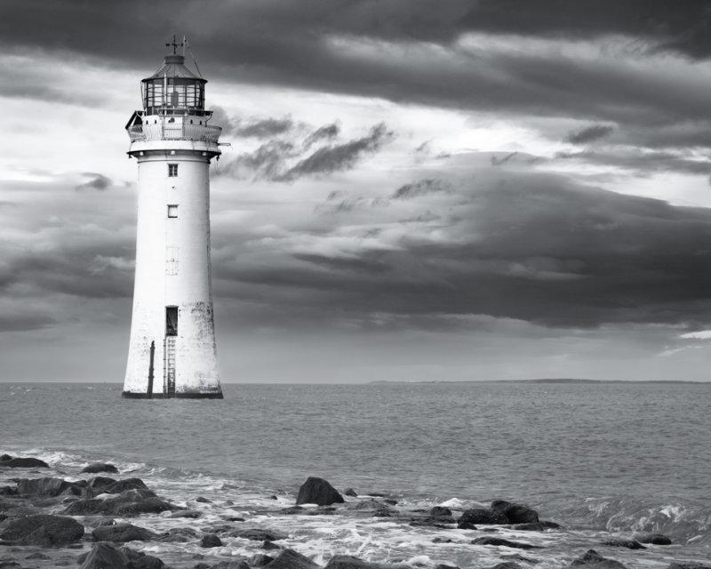New Brighton. Lighthouse