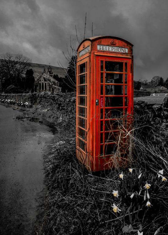 Old Phone Box Garsdale