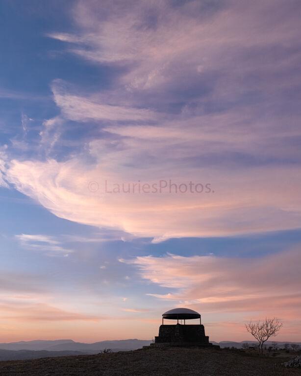 Viewing Cupola, Sunset